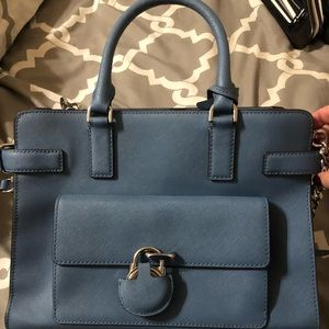 Blue Michael kors purse